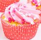 Picture of Two-Bite Valentine's Mini Cupcakes